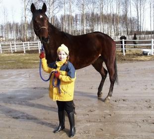 Ylva Brodda 2 år